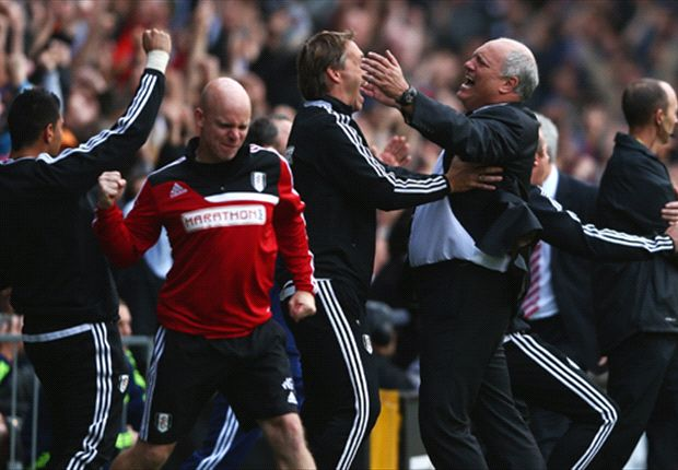 Fulham 1-0 Stoke City: Bent relieves pressure on Jol
