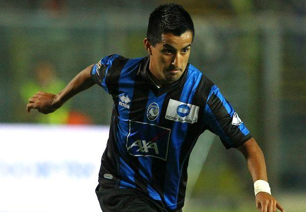 Con l'assenza di Denis, sarà Moralez una delle due punte bergamasche contro il Bologna.