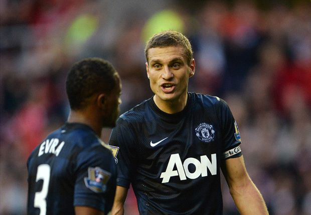Vidic: Manchester United argued a lot under Moyes