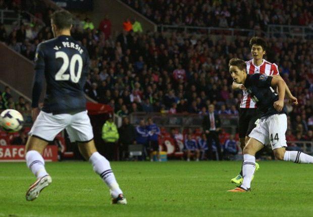 Januzaj in azione in Premier League contro il Sunderland