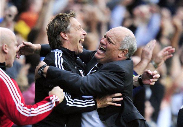 Jol wants Fulham improvement despite Stoke win