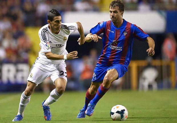 Real Madrid tat sich sehr schwer gegen Levante