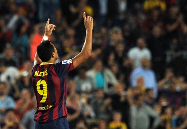 Barcelona 4-1 Valladolid: Alexis at the double as Catalans maintain perfect record
