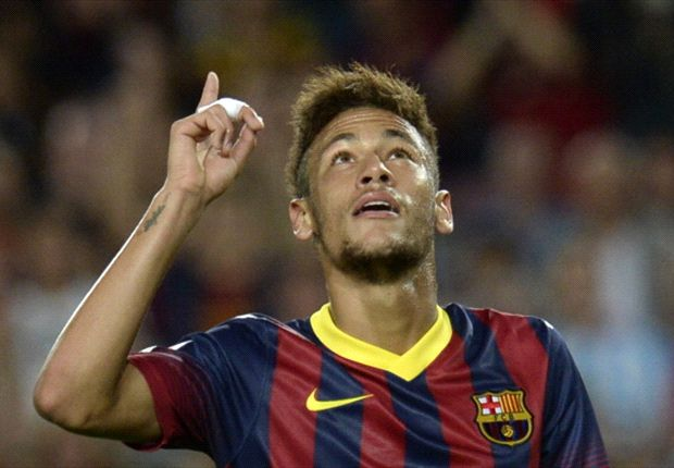 Neymar pays homage to Messi