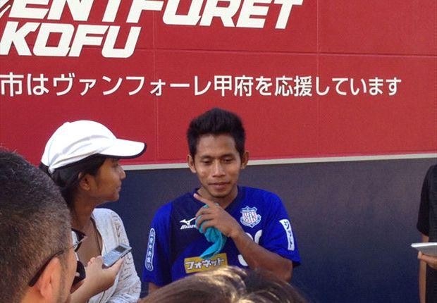 Indonesia starlet Andik scores in Ventforet Kofu Reserves game