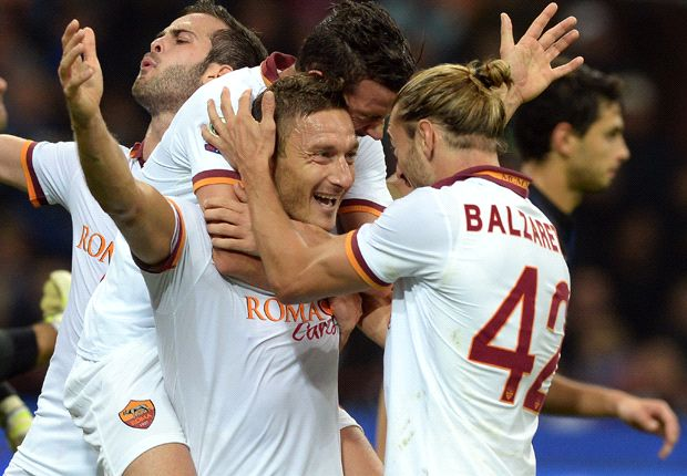 'Turned in a performance of someone half his age' - Goal's World Player of the Week Francesco Totti