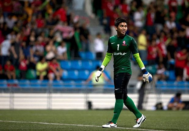 The Singapore goalkeeper has played under Sundram for both his years in charge of the LionXII