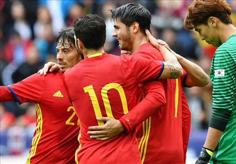 RATINGS: Morata impresses in Spain win
