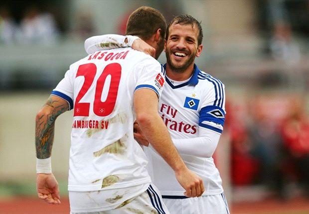 """Van der Vaart lobt Neuzugang Lasogga: """"Er ist gut für die Mannschaft"""""""