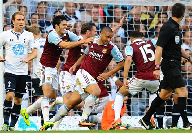 Tottenham 0-3 West Ham: Spurs stunned as Hammers run riot