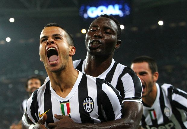 Kwadwo Asamoah and Sebastian Giovinco
