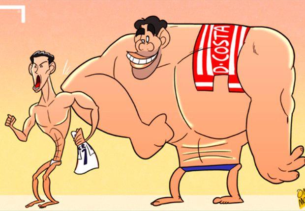 """Cartoon - L'Atletico """"parfait"""" fléchit ses muscles"""