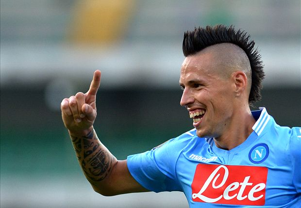 Benitez hails Hamsik after Livorno win