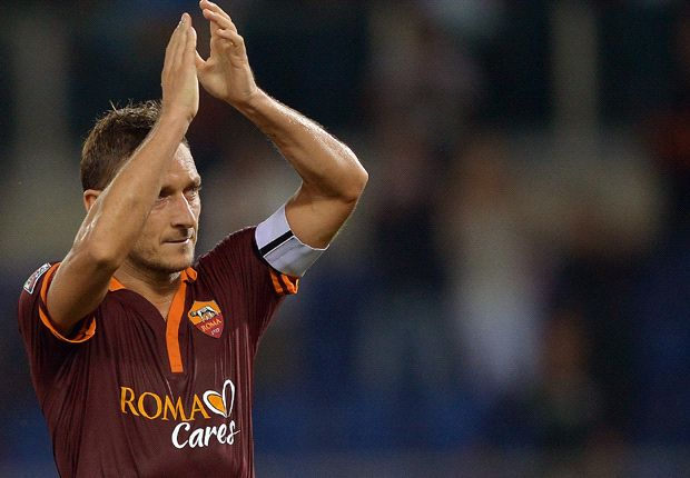 Totti sets sights on Juventus after Livorno win