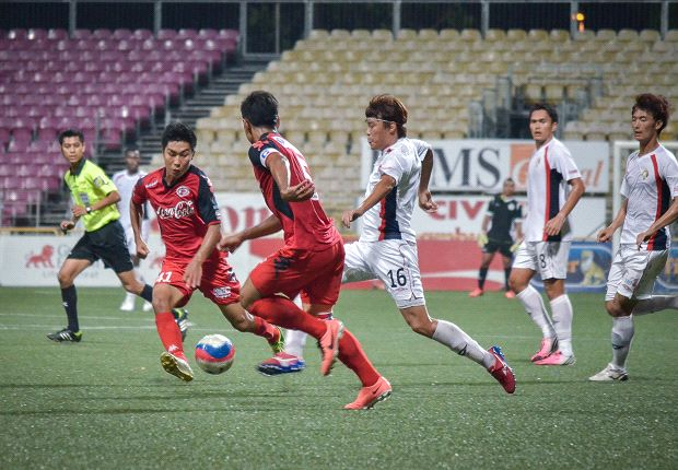 Park Kang Jin could not prevent Balestier's defeat to Home in the Singapore Cup semi-finals.