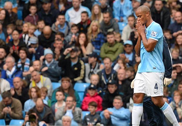 Manchester City captain Kompany out of Chelsea clash