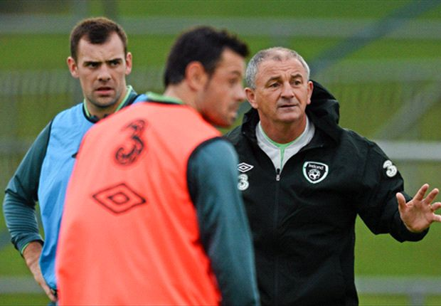 Noel King hits the ground running in caretaker charge of Ireland