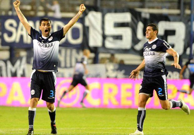 Gimnasia se lo dio vuelta a Vélez y le ganó 2-1.