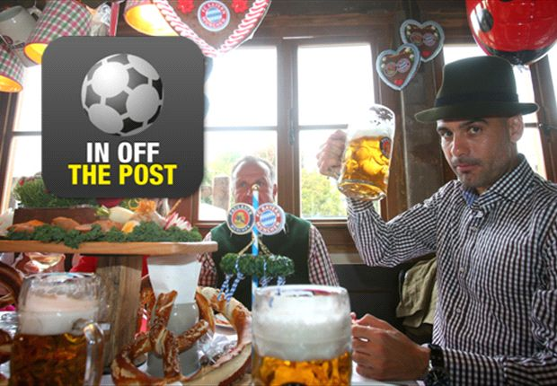 Prost! Here's to Bayern