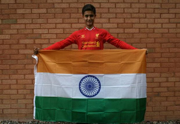 Yan Dhanda dreams of becoming the first Indian to play for Liverpool