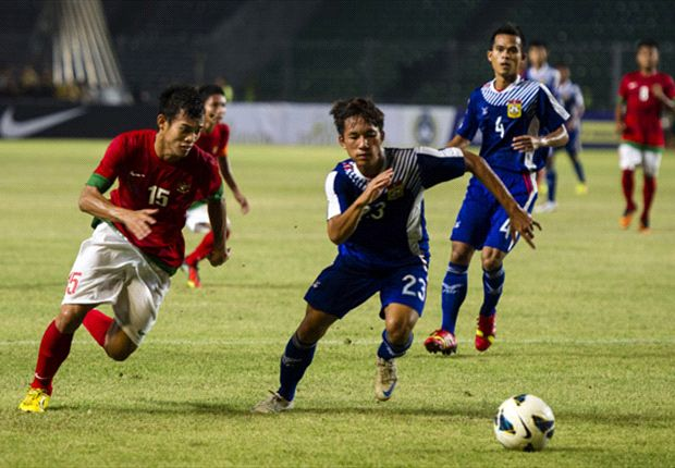 Indonesia Cukur Laos Empat Gol Tanpa Balas