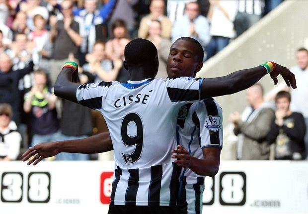 Pardew hopes for Cisse international goal