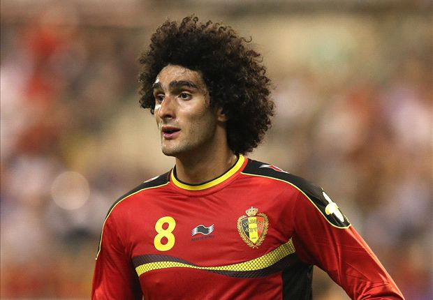 Fellaini will play for Belgium despite wrist injury, confirm Manchester United