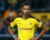 Aubameyang happy at Dortmund