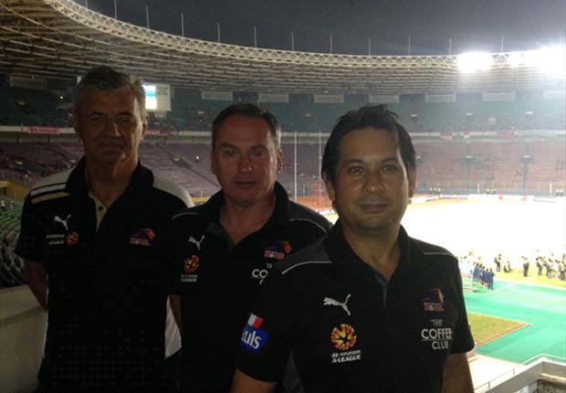 Perwakilan Brisbane Roar pantau performa pemain timnas U-19 di Stadion Utama Gelora Bung Karno