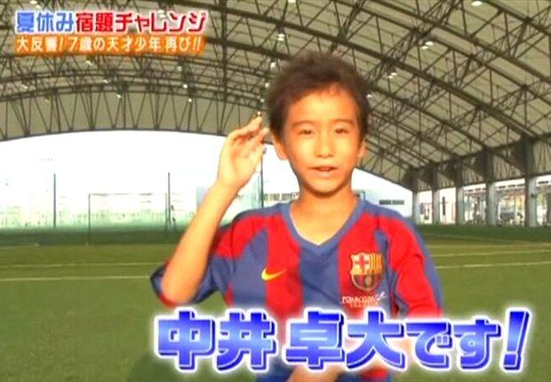 'Pipi', una estrella en la televisión de Japón a sus 9 años
