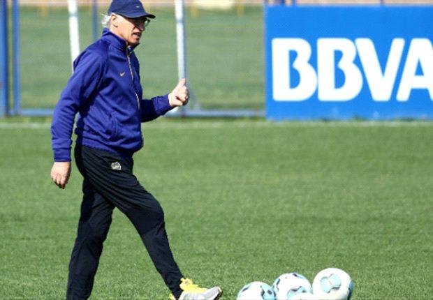 Bianchi quiere que sus jugadores se cuiden para no sufrir más lesionados.
