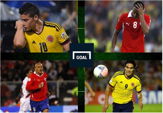 Duelos claves para el partido ante Colombia