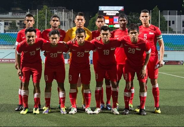 The Lions starting line-up in the recent 1-0 friendly win against Laos (Photo: FAS)