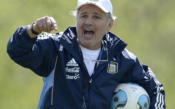 Sabella - Argentina entrenamiento