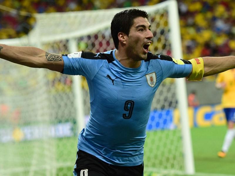 L'Uruguay sera privée de Suarez contre le Mexique