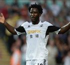 Swansea hit out at Liverpool over Bony