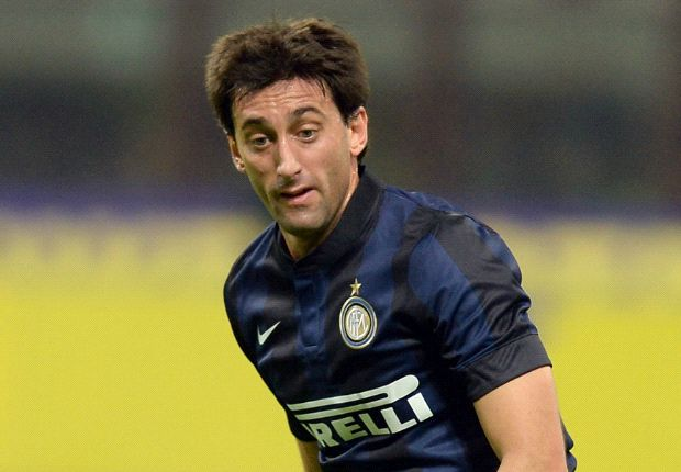 Diego Milito to miss Milan derby