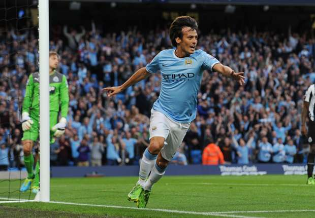 David Silva 'very happy' at Manchester City