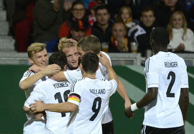 Philipp Hofmann ließ die U21 gegen Montenegro jubeln