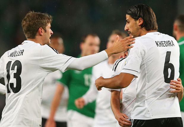 Deutschland bejubelt dank des 3:0-Siegs über Irland die 16. WM-Teilnahme