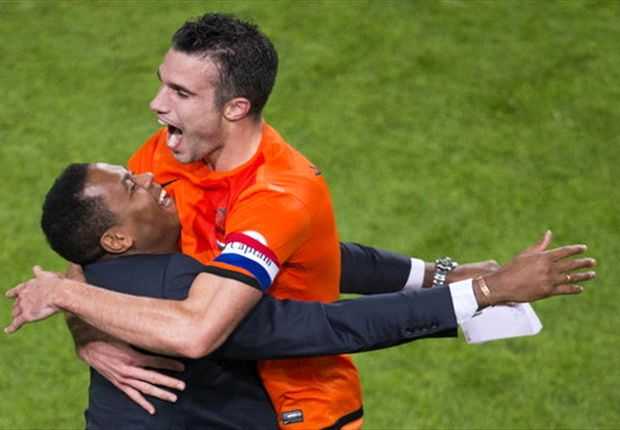 Bruma in awe of record-breaking Van Persie