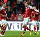 Résumé de match, Danemark-Arménie (2-1)