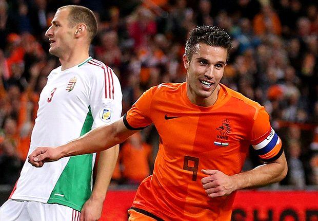Holanda 8-1 Hungría: Festival 'Oranje' con un sublime Van Persie
