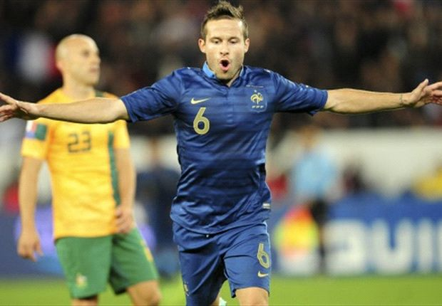 France midfielder Cabaye respectful of free-scoring Ukraine