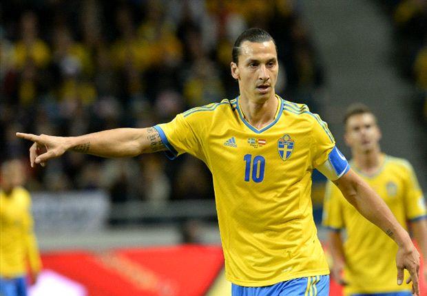 Zlatan menjadi bintang utama dalam laga ini karena memberikan assist dan mencetak gol kemenangan bagi Swedia di menit akhir.