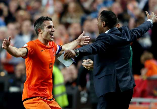 Van Persie: I didn't expect to break Kluivert record against Hungary