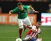 ► Moreno ya se sabía lateral