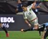 Así jugó Chicharito vs. Uruguay