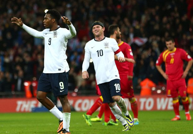 Sturridge thrilled by growing partnership with 'world class' Rooney