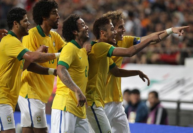 South Korea 0-2 Brazil: Selecao seal victory in Seoul